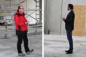 Links: Ing. Georg M. Schuber (EcoProjekt); Rechts: Prok. Thomas Schwarz (Autohaus Birngruber)