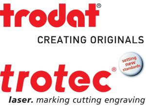 Logo Trodat und Trotec