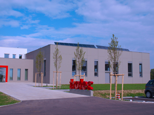 The finished zero-energy building